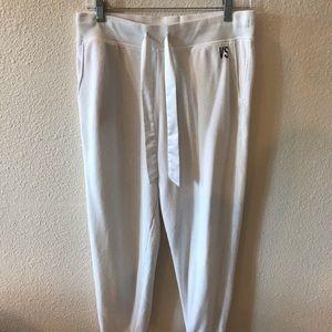 Victoria's Secret White Sweatpants Size M